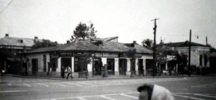 Strada Gheorghe Doja colţ cu strada Decebal in 1971