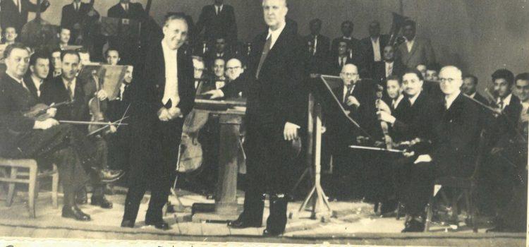 Cum s-a născut orchestra filarmonicii din Ploiesti – foto 1954