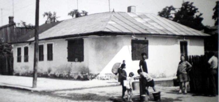 Cișmea cu apă pe strada Transilvaniei – 1970