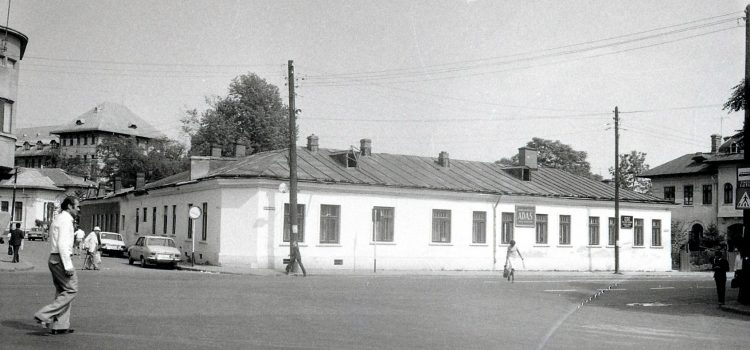 Intersecţia străzii Ştefan Greceanu cu strada Timiş (fosta stradă Ion Câmpineanu) – 1983