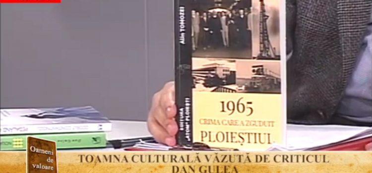 """Toamna literară"" moderator Dan Culicovschi, invitat prof. dr. Dan Gulea – 28 noiembrie 2018"