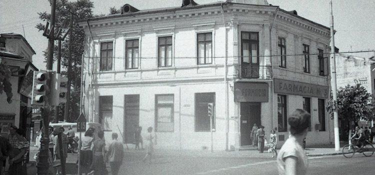Farmacia nr. 3 – strada Vlad Tepes colt cu Calea Campinii (1968)