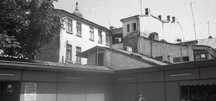Undeva in zona platoului Casei Sindicatelor – 1968