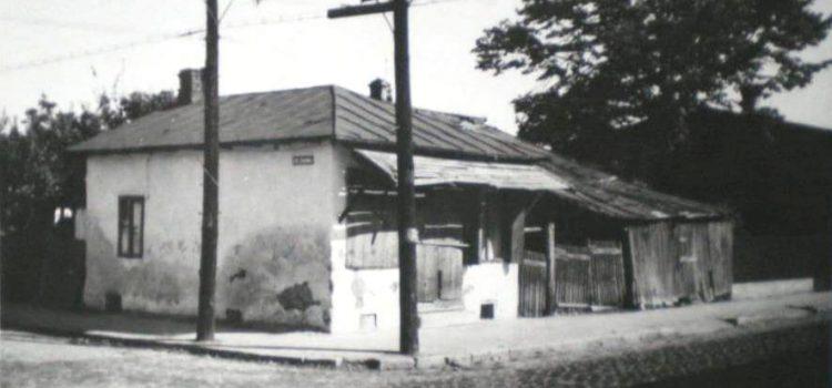 Strada Plăieșilor, colț cu Zăganului, în 1971