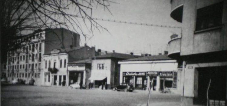 Pe strada Romană intersecția cu strada Paris (1971).