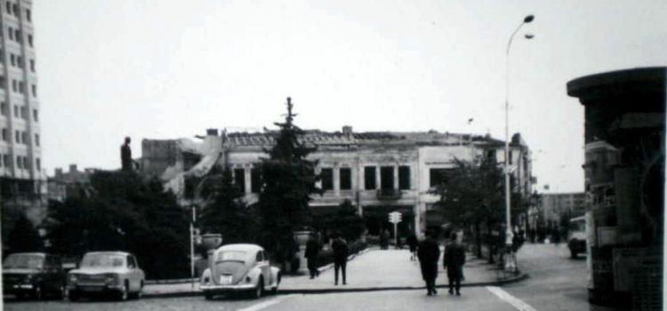 Demolarea grupului de clădiri din centrul interbelic …