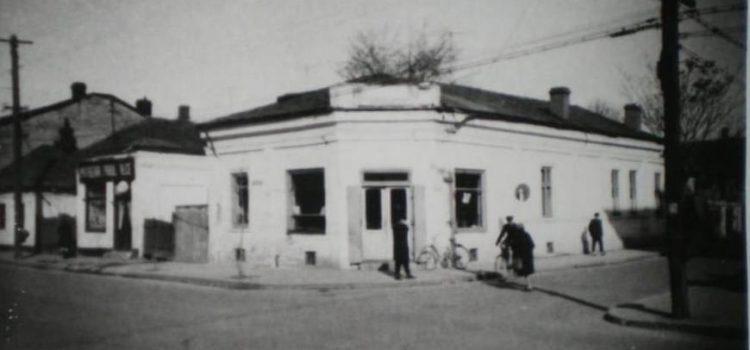 O veche gogoșerie la intersecția străzii Transilvania cu strada Gh. Doja – foto 1971