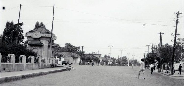 Fosta Calea Oilor, in zona unde astazi se afla piata Mihai Viteazul – foto 1971
