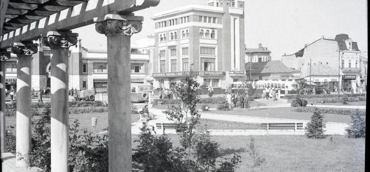 Zona Halelor Centrale – foto 1956