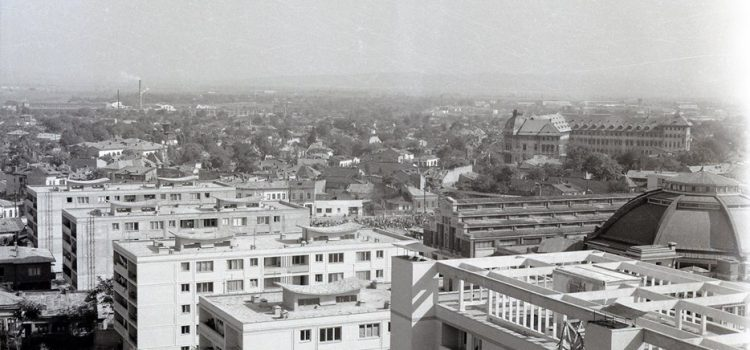 Imagine panoramică in zona centrală – 1963