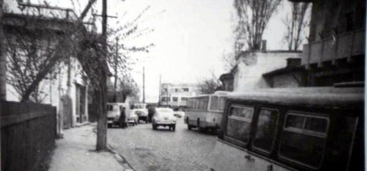 La o plimbare pe strada Văleni – foto 1971