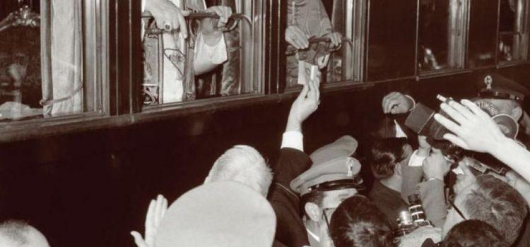 In două secole, doar trei papi au călătorit cu trenul …