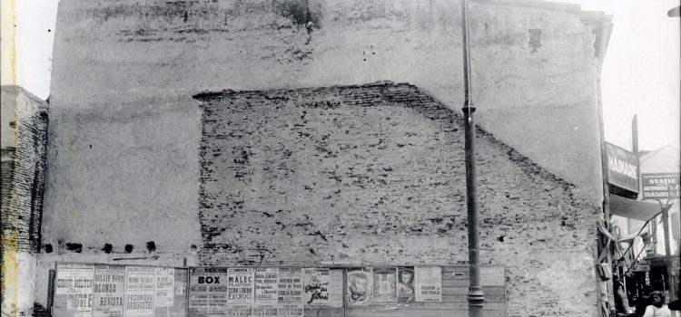 Undeva pe strada Lipscani – foto 1933