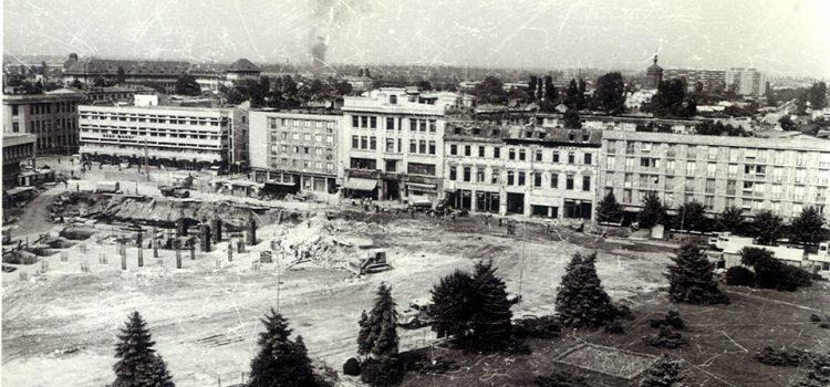 Construirea blocului Mercur – 1978