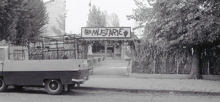 """Strada Mihail Kogălniceanu și fosta """"Mustărie"""" – 1968"""