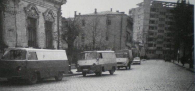 Pe strada Văleni – foto 1971