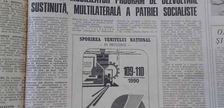 16 decembrie 1989 – 30 de ani de la inceputul revolutiei romane