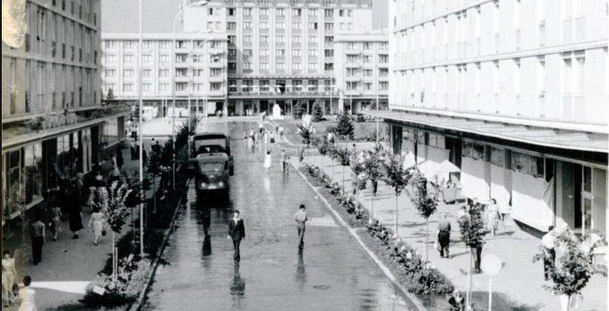 Strada Mihail Kogălniceanu (fostă Franceză) – foto anii '60