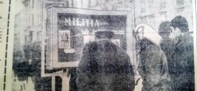 """""""Miliția vă informează"""" – foto 1970"""