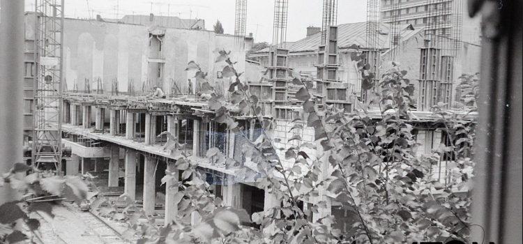 Construira noului teatru din Ploiesti – foto 1979