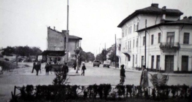 Bd. Republicii la intersecția cu Vasile Lupu – foto 1970