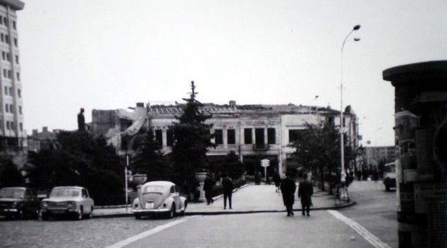 Vis-a-vis de Palatul Culturii – foto 1970