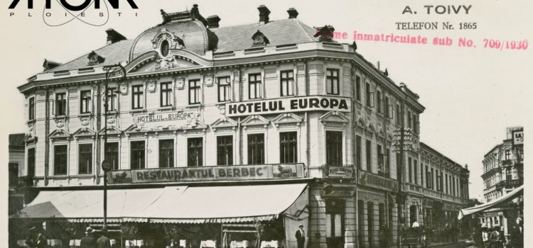 """Elegantul """"Hotel Europa"""" – foto 1937"""