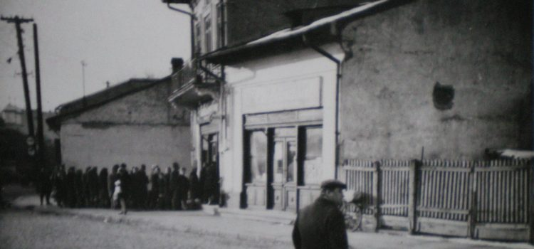 Strada Romană, colț cu str. Pietrari – foto 1971