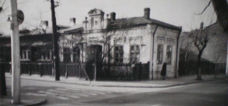 Casa pictorului ploieștean C. Goruneanu – foto 1970