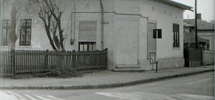 Intersecția străzilor Bobâlna și Traian Vuia – foto 1979