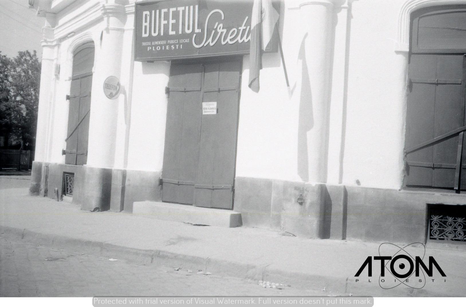 "Bufetul ""Siretul"" – foto 1966"