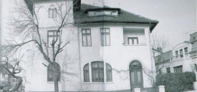 Casă de început de sec. XX, de la intersecția străzilor Bobâlna și Rahovei
