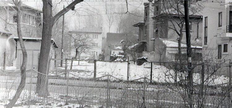 Pe strada Bogdan Petriceicu Hasdeu – foto 1980