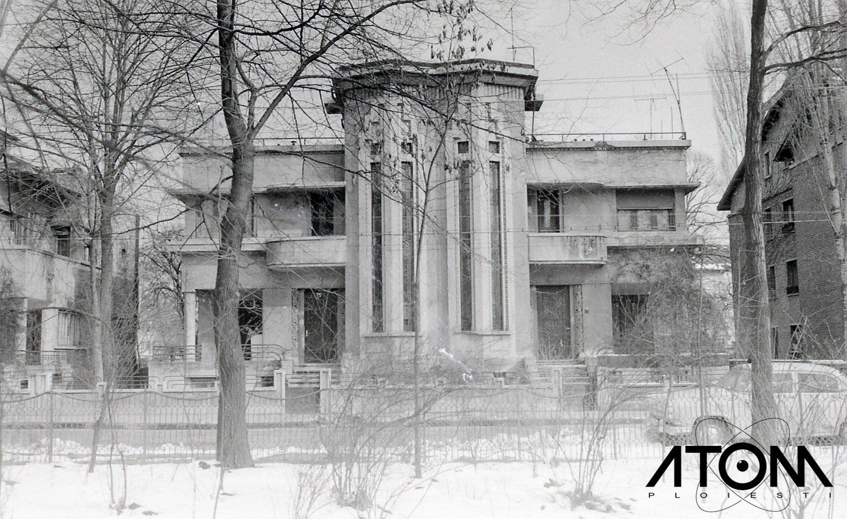 Casa in stil Art Deco pe strada Bogdan Petriceicu Hasdeu – foto 1971