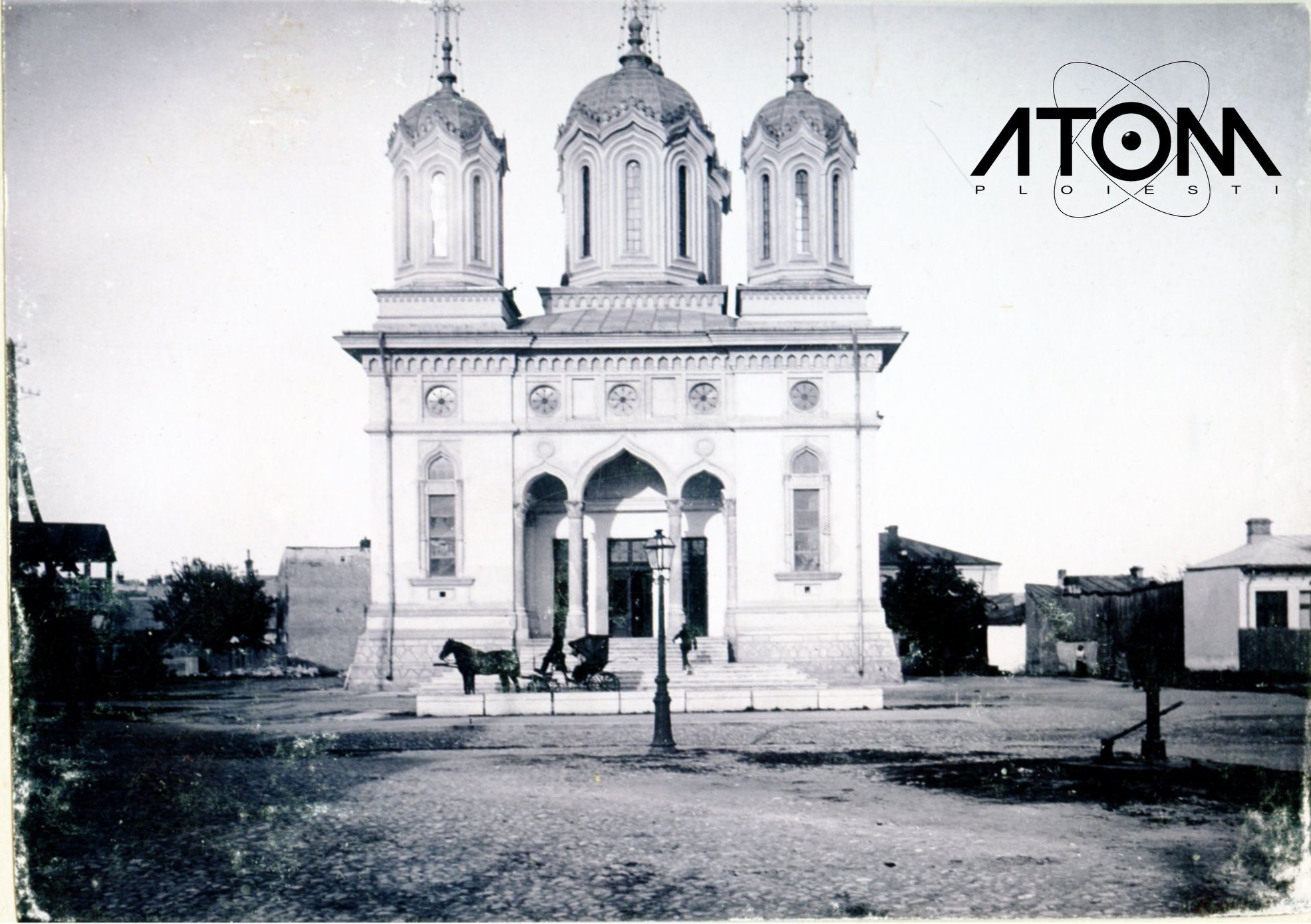 Biserica Sf. Împăraţi Constantin şi Elena – foto 1904