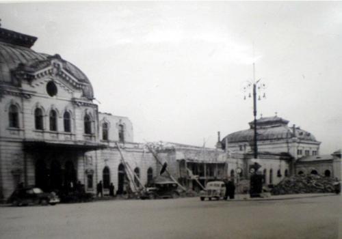 Gara de Sud bombardata – 1944