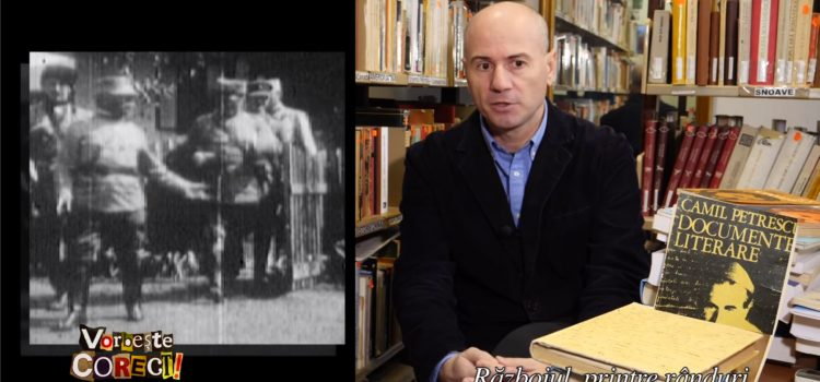"""Emisiunea ,,Vorbește corect"""" – invitat istoricul Dorin Stănescu"""