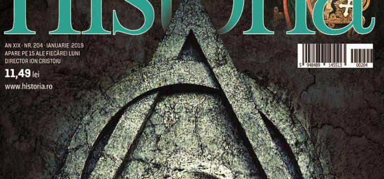 Primul număr al revistei Historia din 2019.