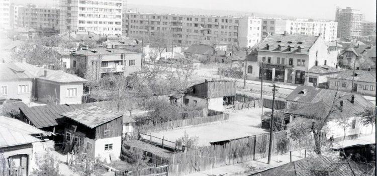 O fotografie panoramică surprinzând Calea Câmpinii – 1963