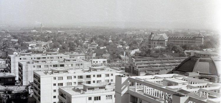 Imagine panoramică in zona centrală – 1963