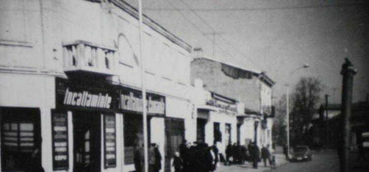 Intersectia strada Romană cu fosta stradă Krupskaia – anii '60