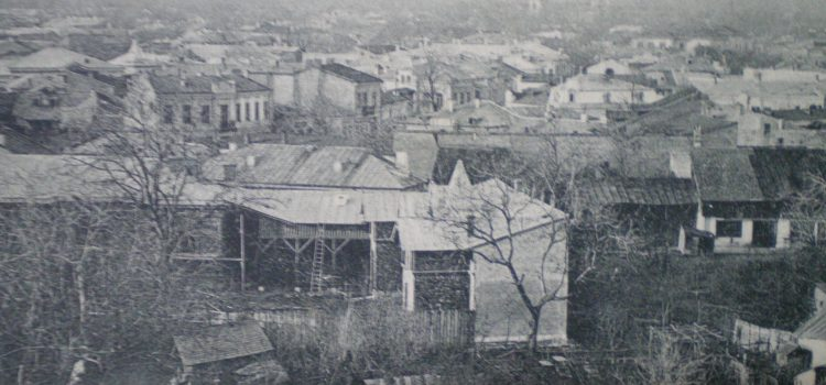 Vedere generala cu St. Stefan si Spiridon – Ploesci, inceput de secol XX