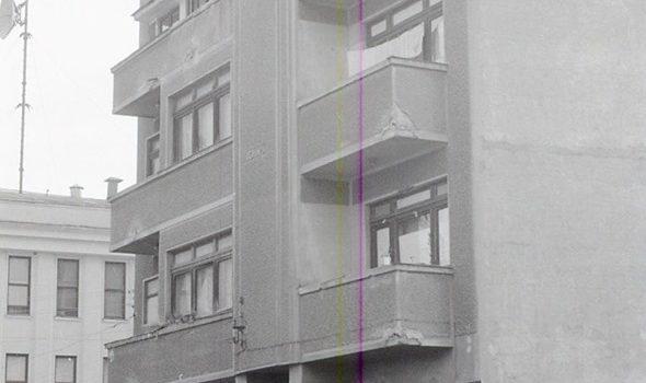 """Blocul """"Chițu"""" – foto 1971"""