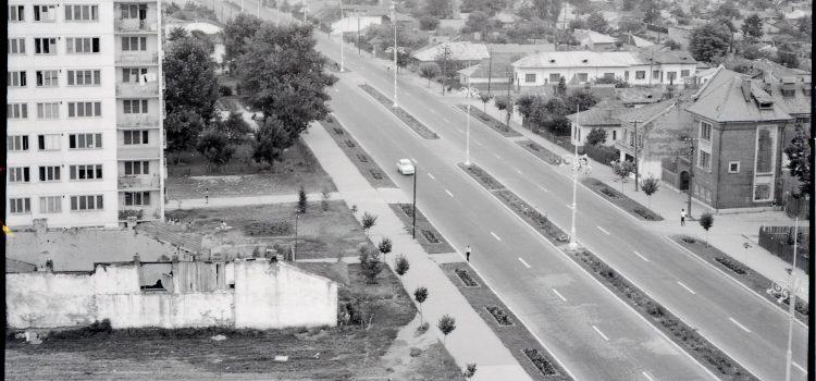 Bulevardul Republicii dinspre Nord – foto 1968