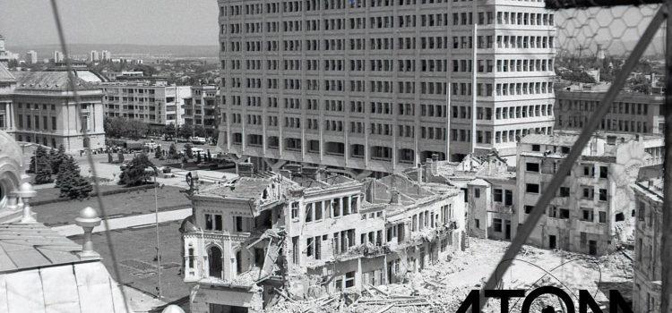 1979 – Demolarea ulltimilor clădiri, din centrul civic.