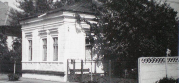 Fosta casă a lui G. M. Petrescu-Sava – foto 1969