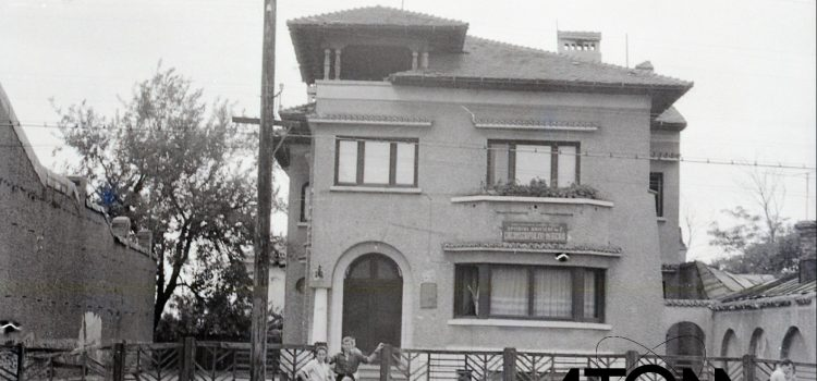 Pe Calea Câmpinii la intersecția cu strada 8 Martie – foto 1963