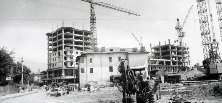 Un Ploiești în plină transformare urbanistică – foto 1985