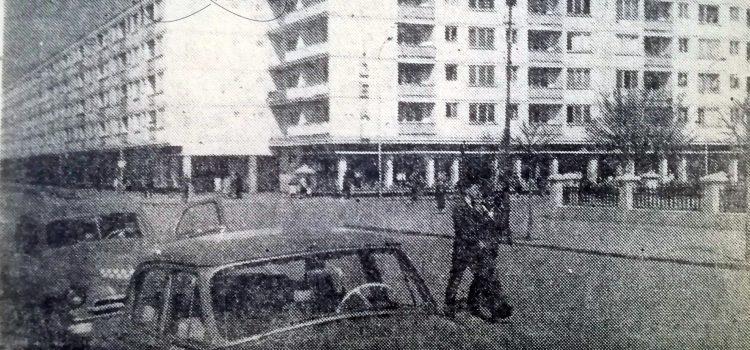 Pe strada Griviței – foto 1964