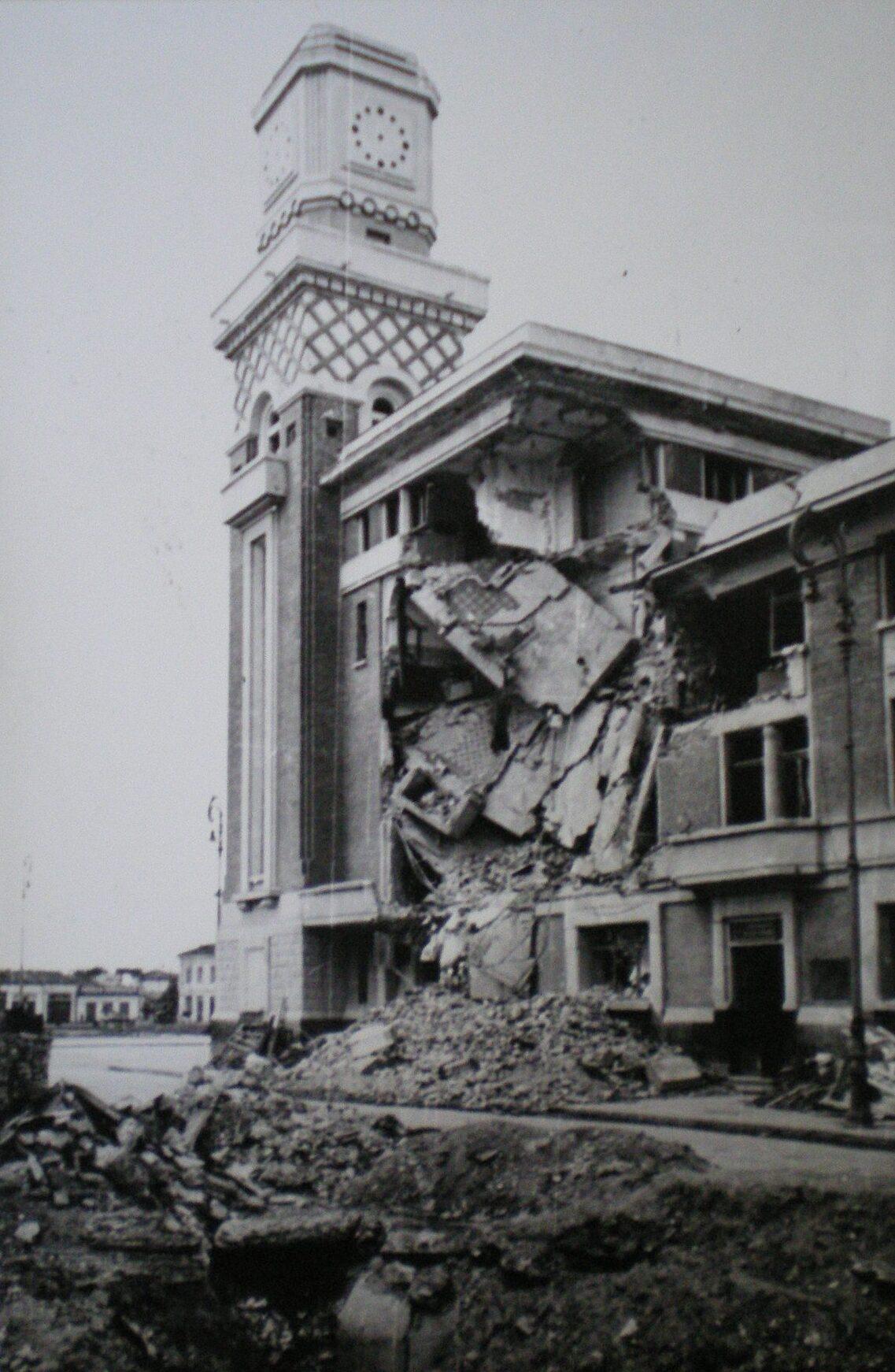 Urmările bombardamentelor din vara lui 1944